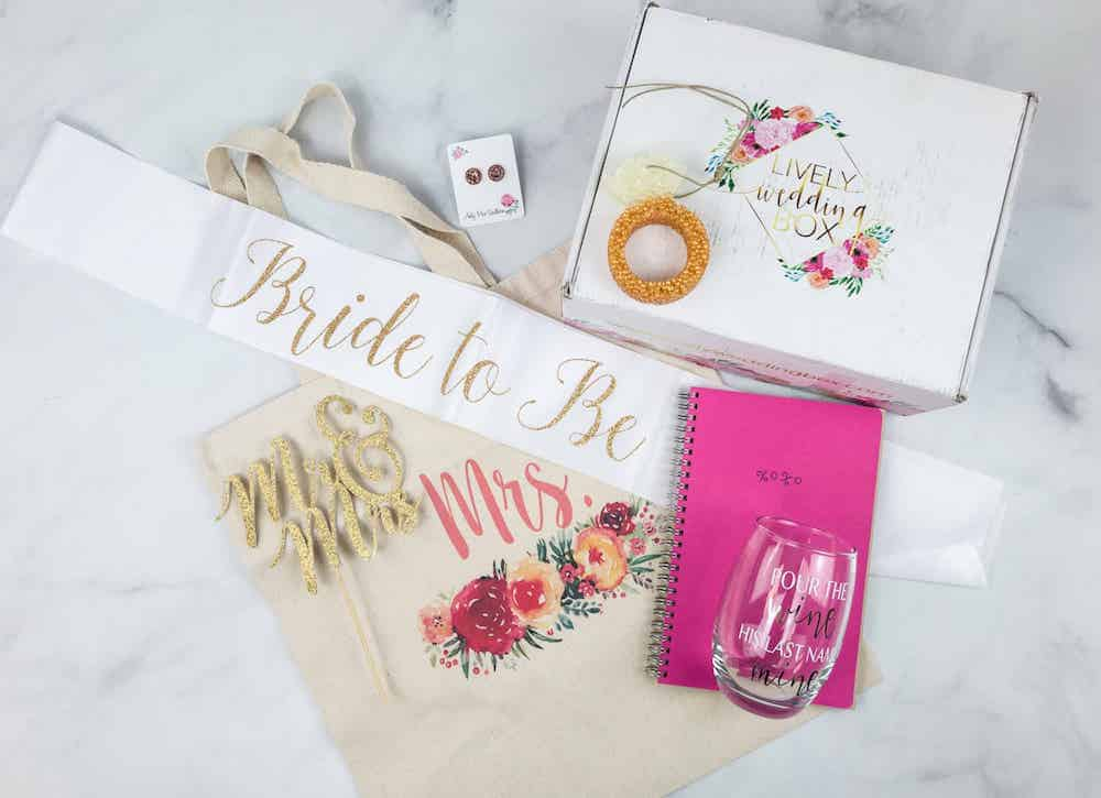 Contents of a Bridal Box